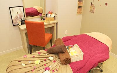 各部屋が個室で癒しの空間